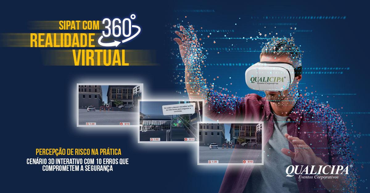Óculos de Realidade Virtual - Sipat Virtual